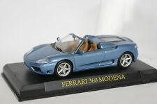 Ixo Presse 1/43 - Ferrari 360 Modena Spider bleue