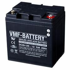 VMF AGM Deep Cycle Bleiakku Batterie Blei Akku wartungsfrei 12V 28Ah DC28-12S
