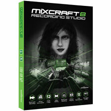 MIXCRAFT 8 RECORDING STUDIO AUDIO MUSIC SOFTWARE DIGITAL EDelivery License