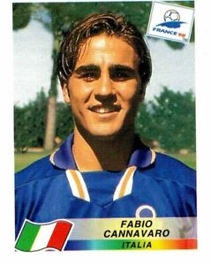 PANINI WORLD CUP FRANCE 98 FIGURINA N. 90 FABIO CANNAVARO (ITALIA) ROOKIE