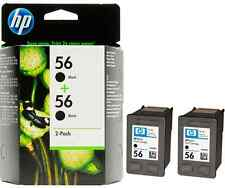 Refilled HP 56 Black Double Pack High Capacity Remanufactured Inkjet cartridges