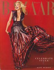 HARPER'S BAZAAR Magazine DEC 2013/JAN 2014, CELEBRATE STYLE, KATE HUDSON.