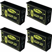 (4) NEW ModTone MTDB-100 Direct Box PRO DI FREE SHIPPING Auth Dealer!