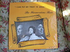 The Harmonious Three I Can Put My Trust In Jesus lp
