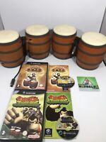 Donkey Kong Jungle Beat And Donkey Konga - Includes Bongos (GameCube)