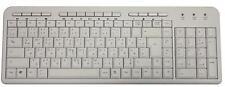 Tastatur Deutsch Arabisch USB Multimedia Weiß PK703