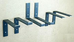 Shelf Brackets Scaffold Board Rustic Industrial Heavy Duty Metal Steel Handmade