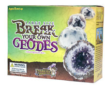 Large Break Open Geodes High Quality Kit 12 Geodes Ancient Treasure Adventures