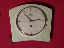 S 6 -- Vintage Wanduhr Küchenuhr Uhr Garant Schwebeankel  70er 60er clock