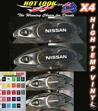 NISSAN 370 X Z HIGH TEMP VINYL Brake Caliper Decals Stickers Suit Nismo Hoon JDM