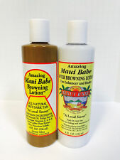MAUI BABE BROWNING LOTION & AFTER SUN CARE - (2) 8oz