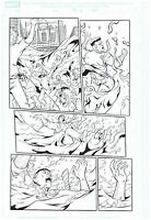 SPIDER-MAN ORIGINAL PUBLISHED ART PAGE J. JONAH JAMESON HYDRO-MAN