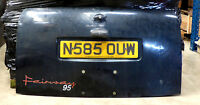 Full Boot Lid For London Taxi Fairway 1995 Black