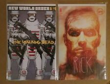 WALKING DEAD #175 CVR B SIENKIEWICZ + REGULAR COVER A NEW WORLD ORDER IMAGE NM