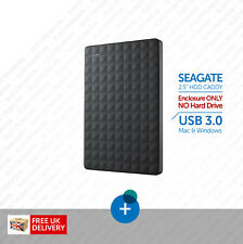 "Seagate External Hard Drive Enclosure (Caddy) 2.5"" SATA USB 3.0 Mac & Windows"