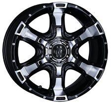 CRIMSON VAMPIRE wheels rims 8J-18 +38 for HIACE200 PAJERO from JAPAN