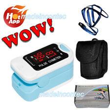 Oxymètre de pouls à doigt Moniteur d'oxygène doigts SPO2 PR,CMS50M LED Promotion