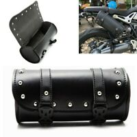 Universal Waterproof Motorcycle Saddle Bags Luggage Front Rear Rack Tail PU Bag