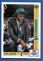1991-92 Upper Deck UD LARRY JOHNSON #2 Rookie RC Charlotte Hornets - UNLV