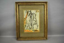 Study For Equestrian Portrait of the Duke of Lerma Peter Paul Rubens Sketch Art