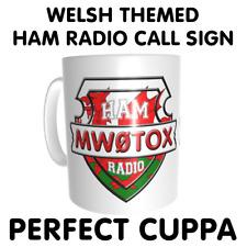 Welsh Wales Cymru Themed Ham Amateur Radio Call Sign CB Handle
