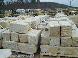 Mauersteine / Sandsteine / Natursteine / 30x30x60 cm