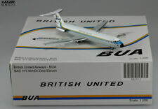 British United BAC111-500 Reg:G-AWYV Scale 1:200 Diecast Model          XX2512