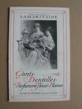 Catalogue MAGASINS de la SAMARITAINE GANTS DENTELLES PARFUMERIE FLEURS PLUMES