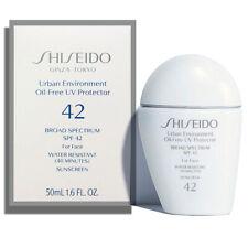 Shiseido Urban Environment Oil-Free UV Protector SPF 42 1.6fl.oz/50ml US Sell