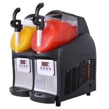 2 Tank Frozen Drink Slush Slushy Making Machine JTKX02 Juice Smoothie Maker 2*2L