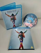 Michael Jackson This Is It Blu Ray Concert Documentary