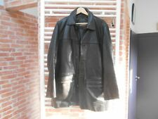 SUPERBE BLOUSON cuir REDSKINS T 46 / L FRANCAIS   marron foncé +++ A 100€ ACH IM