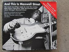 CHICAGO BLUES 3-CD SET: AND THIS IS MAXWELL STREET – ROBERT NIGHTHAWK et al