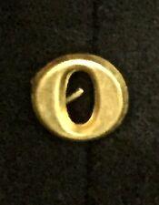 "Civil War - Indian Wars, Brass Number ""0"" for Forage Cap or Kepi, Reproduction"