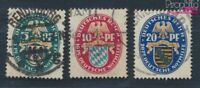 Deutsches Reich 375-377 gestempelt 1925 Deutsche Nothilfe (8062699