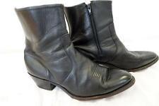DURANGO DB300 Side Zipper Western BOOT Black  US 10EE /UK 9 /EU 43.5     427 Y