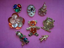 LOT  de BROCHES Vintage  BROOCHS