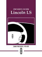 2001 lincoln ls service repair manual software