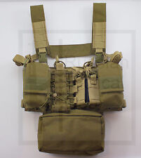 MBC Russian D3 Tactical Chest Rig (Coyote Brown) + Great Universal Pouch