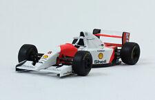 McLaren MP4/8 Ayrton Senna 1993 Rare Formula 1 F1 Diecast Car 1:43 + Magazine