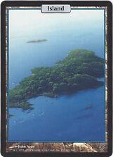 TCG MtG 185 Magic the Gathering Unhinged Full Art Land Island