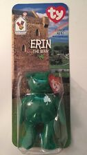 1998 Ty/McDonalds Erin the Bear green clover ~~~New In Package!!!!