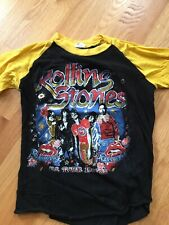 Vintage Rolling Stones 81-82 Tour Tee Pakistan L(fits Like S) Rare In Great Cond