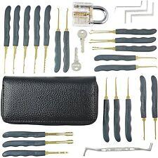 26pcs Practice Padlocks Unlocking Lock Pick Set Key Extractor Tool Lock Training