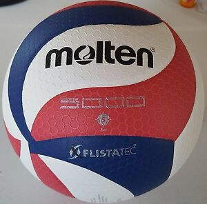 Molten FLISTATEC Volleyball -Official ball USA Volleyball V5M5000-3USA US Seller