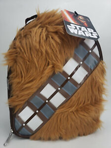 THERMOS INSULATED LUNCH KIT THERMOS W/ REFLECTIVE STRIPS DISNEY STAR WARS WOOKIE