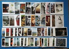 Collection of 56 Art Postcards, Sculptures Assemblage Artists Postcrossing PC466