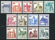 Germany-Berlin 9N391-9N403, MNH. Definitive. Castles, 1977-1979