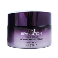 [MISSHA] Time Revolution Night Repair Probio Ampoule Cream (2019 New) - 50ml