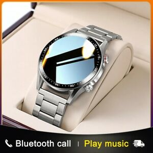 SmartWatch Bluetooth Call Custom Dial Full Touch Screen Waterproof Fitness track